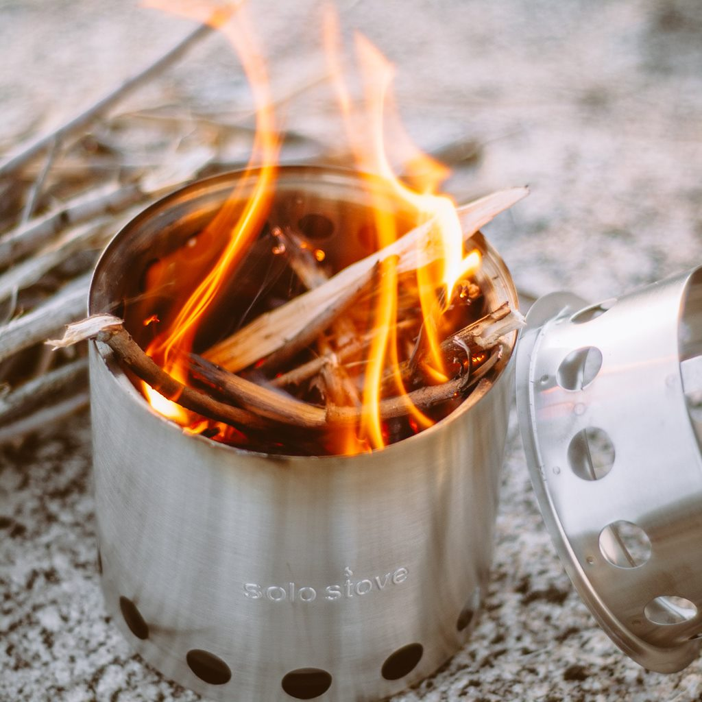Solo Stove Lite - is an excellent wood burning stove